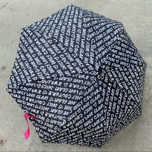 Juicy Couture Umbrella Black White